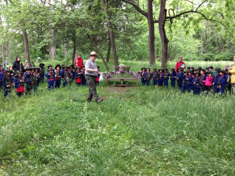Jr Ranger Ceremony, May 24, 2013