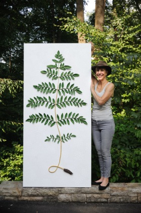 Sophia with Royal Fern